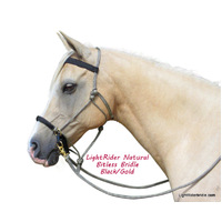 LightRider Bitless Bridle - Rope Natural