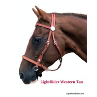 LightRider Western Bitless Bridle