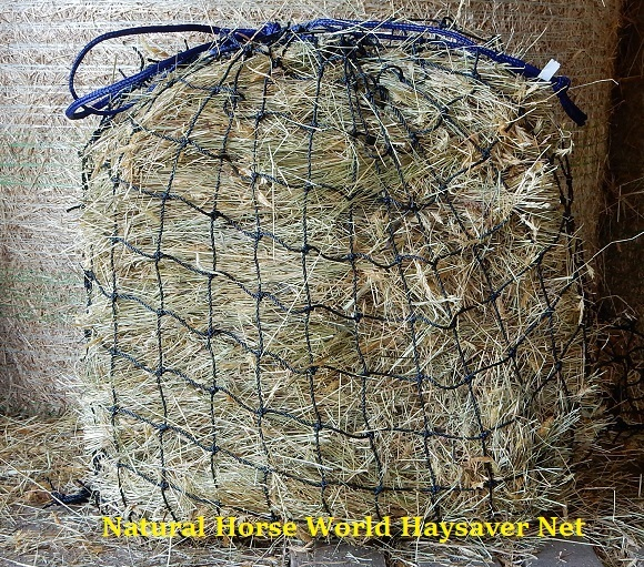 LARGE SLOW FEED HAY NET GREEDY FEEDER WITH EXTRA SMALL HOLES 3 CM OPENING