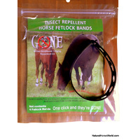 GONE Insect Repellent Horse Fetlock Bands