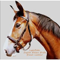 LightRider English Bitless Bridle